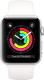 Умные часы Apple Watch Series 3 42mm / MTF22 (алюминий серебристый/белый) -