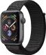 Умные часы Apple Watch Series 4 40mm / MU672 (алюминий серый космос/нейлон черный) -