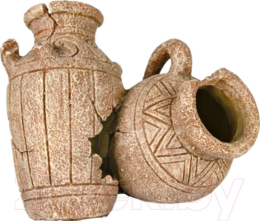 Купить Декорация для аквариума Trixie, Античные кувшины / 8745, Германия, полиэфирная смола