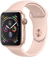 Умные часы Apple Watch Series 4 44mm / MU6F2 (алюминий золото/розовый песок) -