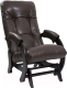 Кресло-глайдер Импэкс 68 (венге/Vegas Lite Amber) -