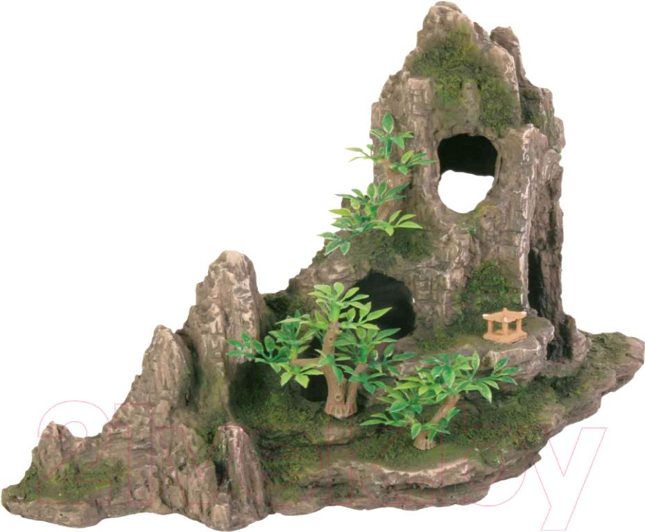 Купить Декорация для аквариума Trixie, Горный хребет с пещерой 8854, Германия, полиэфирная смола