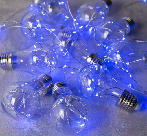 Купить Светодиодная гирлянда Luazon, Лампочки 2291983 (3м, синий), Китай