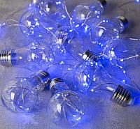 Светодиодная гирлянда Luazon Лампочки 2291983 (3м, синий) -