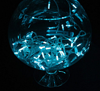 Светодиодная гирлянда Luazon Звездочка 3590715 (5м, аквамарин) -