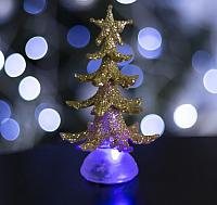 Световая фигура Luazon Новогодняя ёлочка 1077310 (13см) -