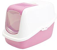 Туалет-домик Savic Nestor 022700WAR (белый/нежно-розовый) -