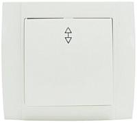 Выключатель ETP Morena 1кл 10А проходной (белый) -
