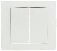 Выключатель ETP Morena 2кл 10А (белый) -