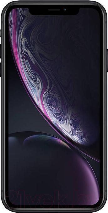 Купить Смартфон Apple, iPhone XR 64GB / MRY42 (черный), Китай