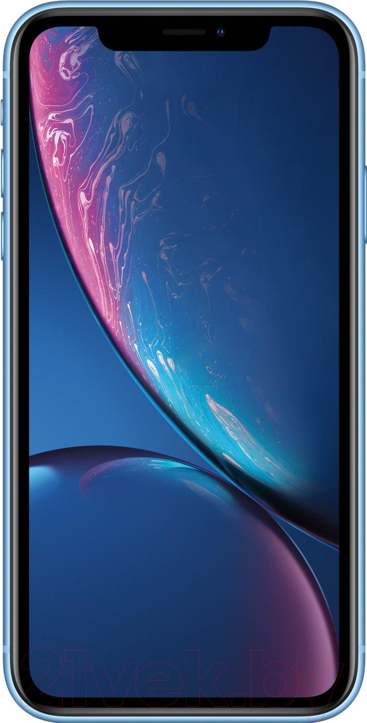 Купить Смартфон Apple, iPhone XR 64GB / MRYA2 (голубой), Китай