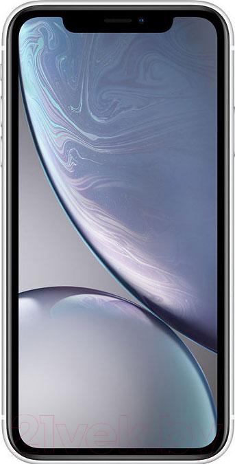 Смартфон Apple, iPhone XR 128GB / MRYD2 (белый), Китай  - купить со скидкой