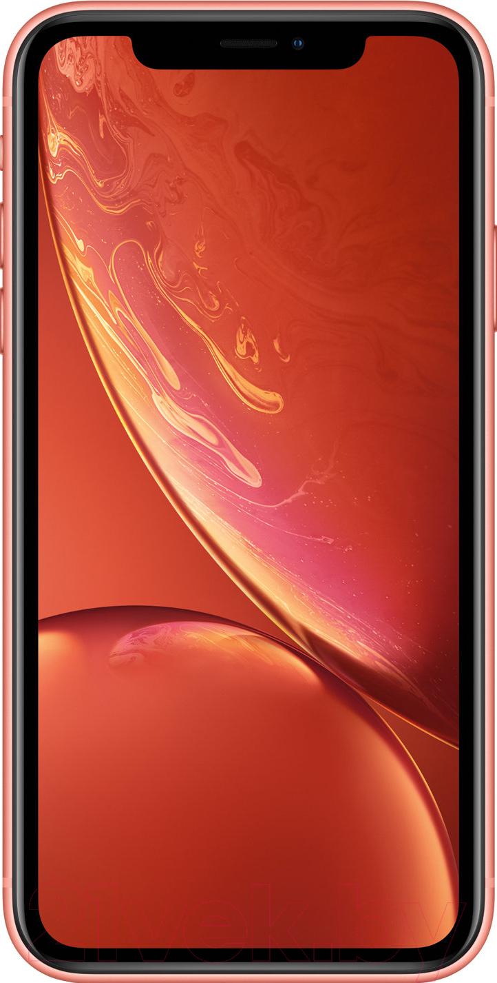 Купить Смартфон Apple, iPhone XR 64GB / MRY82 (коралловый), Китай