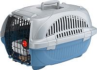 Переноска для животных Ferplast Atlas Deluxe 20 / 73034899 (голубой) -