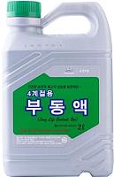 Антифриз Hyundai/KIA Mobis Long Life Coolant концентрат / 07100-00200 (2л, зеленый) -