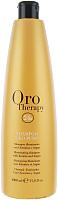 Шампунь для волос Fanola Oro Therapy 24k Oro Puro с аргановым маслом и микрочаст. золота (1л) -