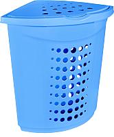 Корзина для белья Алеана 122051 (голубой) -