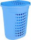 Корзина для белья Алеана 122053 (голубой) -