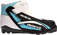 Ботинки для беговых лыж TREK Distance Control SNS (черный/голубой, р-р 42) -