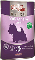Корм для собак Miglior Cane Unico Lamb (100г) -