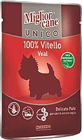 Корм для собак Miglior Cane Unico Veal (100г) -
