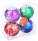 Набор ёлочных игрушек Зимнее волшебство Снежинки / 2122458 (4шт) -