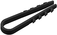Дюбель-хомут КС ДХК-18 11-18 (100шт, черный) -