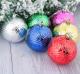 Набор ёлочных игрушек Зимнее волшебство Прокси 2371156 (волны, 6шт) -