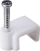 Скоба гвоздевая КС 4 (50шт, плоские) -