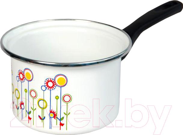 Купить Ковш Сантэкс, Луговые цветы 1-4410400 (белый), Украина