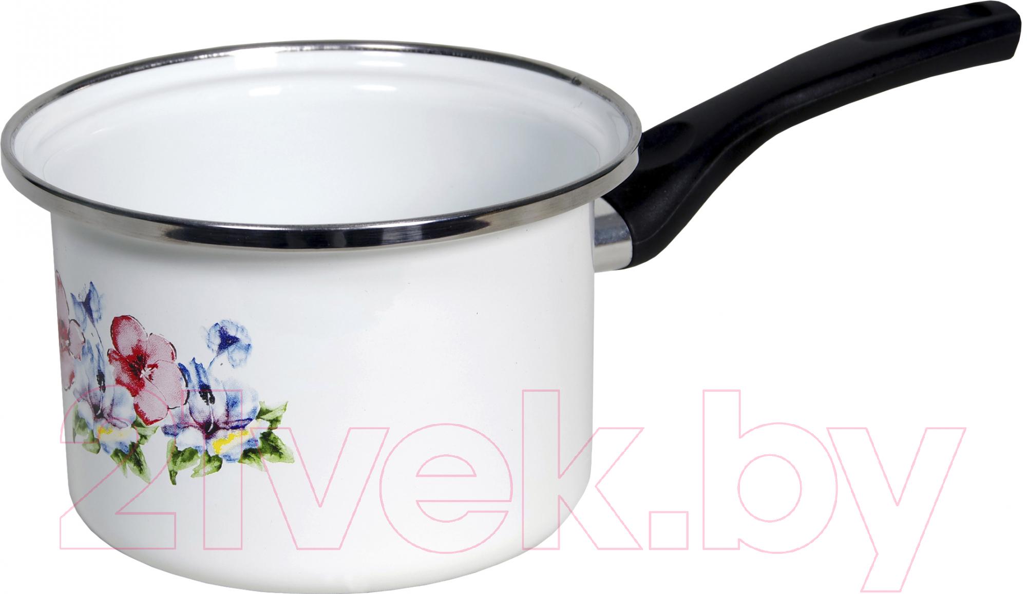 Купить Ковш Сантэкс, Маки 1-4410400 (белый), Украина