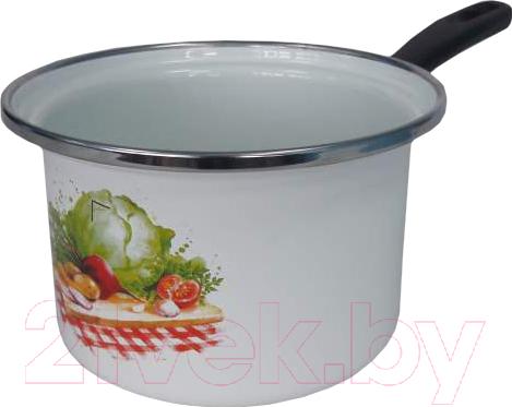 Купить Ковш Сантэкс, Овощи 1-4410400 (белый), Украина