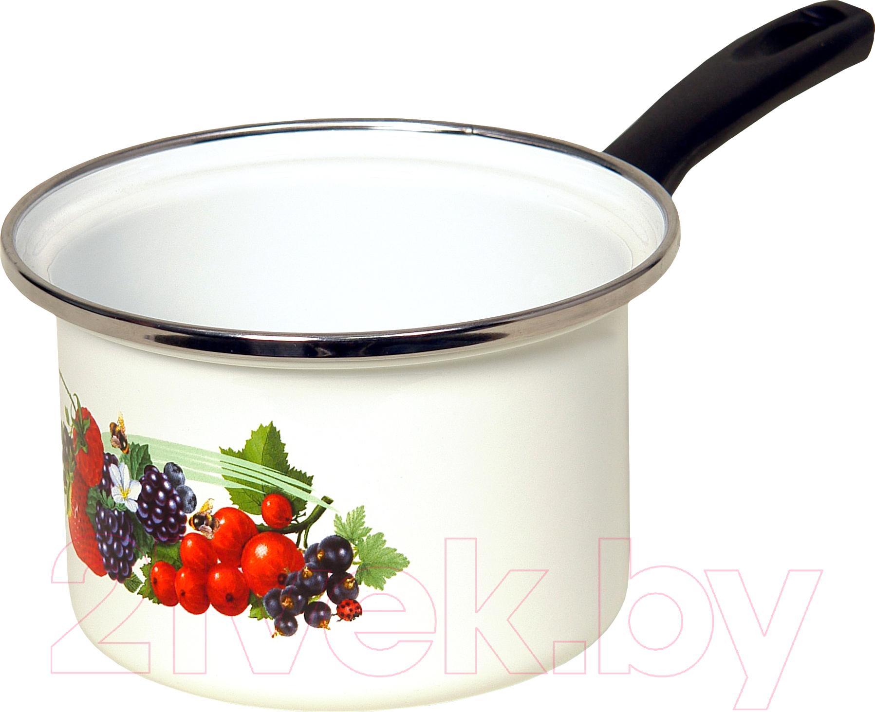 Купить Ковш Сантэкс, Ягоды 1-4410400 (белый), Украина