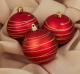 Набор ёлочных игрушек Зимнее волшебство Космос / 3276723 (полоса красный, 3шт) -
