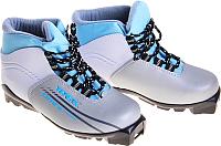 Ботинки для беговых лыж TREK Omni SNS (серебристый/голубой, р-р 44) -