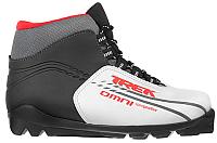 Ботинки для беговых лыж TREK Omni SNS (серый металлик/красный, р-р 33) -