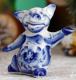 Статуэтка Yiwu Zhousima Craft Танцующая свинка / 3463001 -