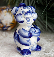 Статуэтка Yiwu Zhousima Craft Поросёнок Кузя / 3371374 -