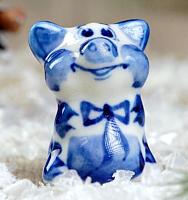 Статуэтка Yiwu Zhousima Craft Поросёнок Малютка / 3585043 -