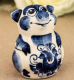 Статуэтка Yiwu Zhousima Craft Поросёнок Обжора / 3585053 -