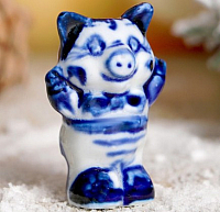 Статуэтка Yiwu Zhousima Craft Поросёнок Вика / 3602358 -