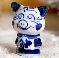 Статуэтка Yiwu Zhousima Craft Поросёнок Наташка / 3602360 -