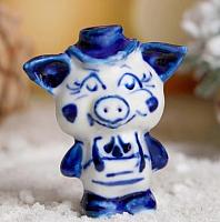 Статуэтка Yiwu Zhousima Craft Поросенок Шаня / 3602368 -