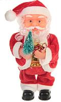 Фигура под ёлку Зимнее волшебство Дед Мороз с елкой и подарком / 1111393 -