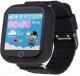 Умные часы детские Wise WG-KD02 (черный) -