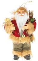 Фигура под ёлку Зимнее волшебство Дед Мороз с веточками / 2357059 -
