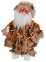 Фигура под ёлку Зимнее волшебство Дед Мороз лесовичок с подарками / 2363959 -