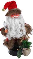 Фигура под ёлку Зимнее волшебство Дед Мороз с мешком подарков / 2363960 -