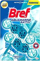 Чистящее средство для унитаза Bref Аквамарин Актив океанский бриз (2x50г) -