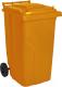 Контейнер для мусора Алеана 122064 (120л, оранжевый) -